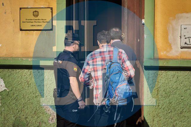 Detención del abogado y empresario Evaristo Glez.