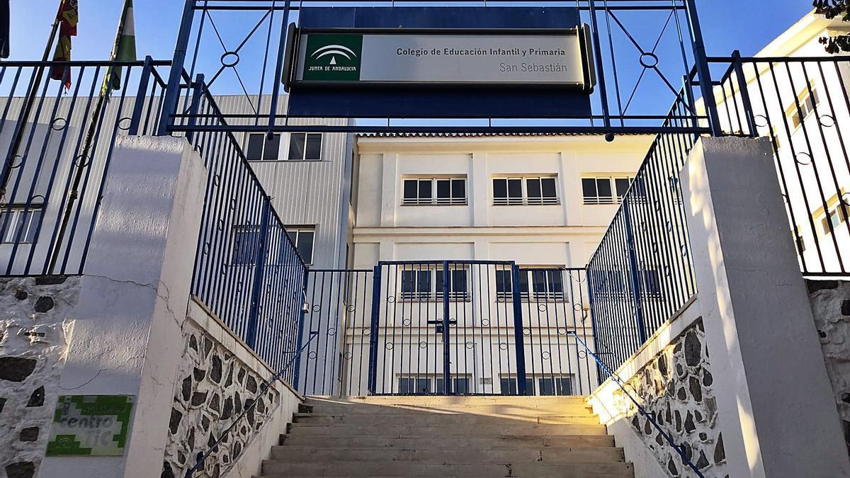 Entrada principal del CEIP San Sebastián de Archidona