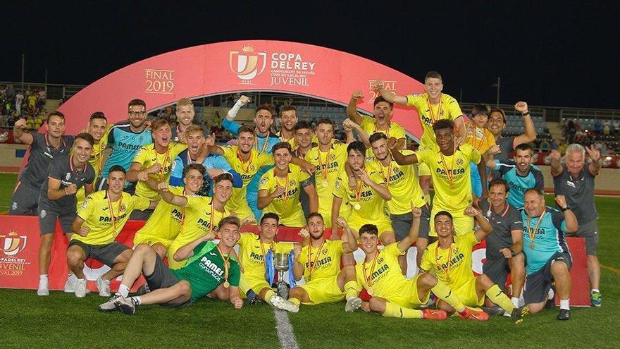 El juvenil del Villarreal de Tena gana la Copa del Rey