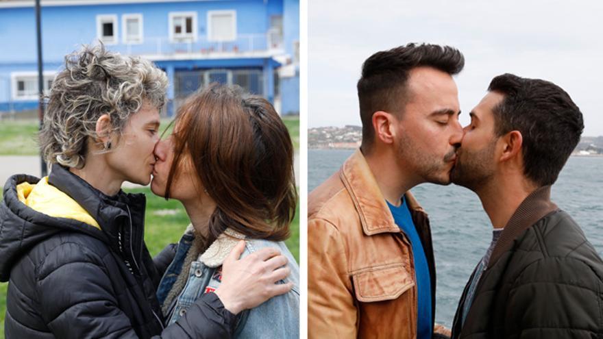 Los besos más difíciles de la pandemia: la historia de dos parejas que se las ingeniaron para vivir su amor a pesar del covid
