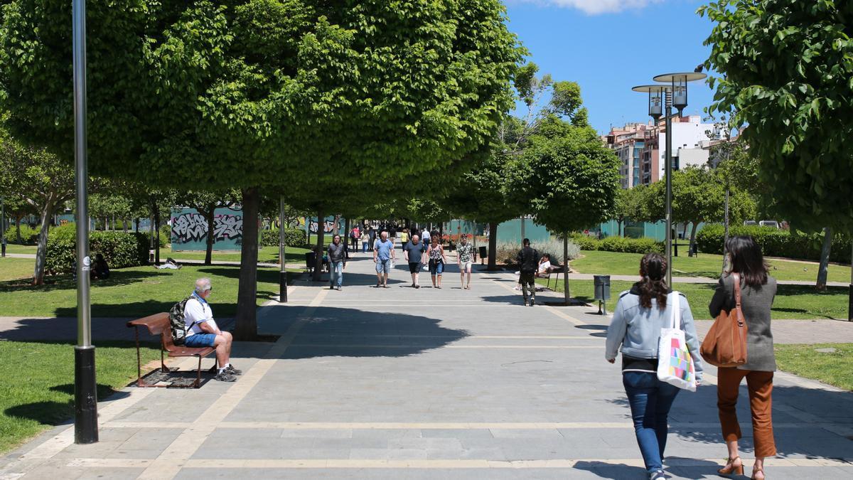 Imagen de archivo del Parc de ses Estacions.