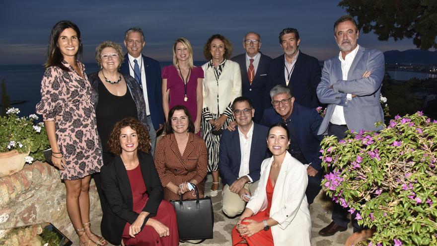 Entrega de las medallas de honor de la Asociación de la Prensa de Málaga