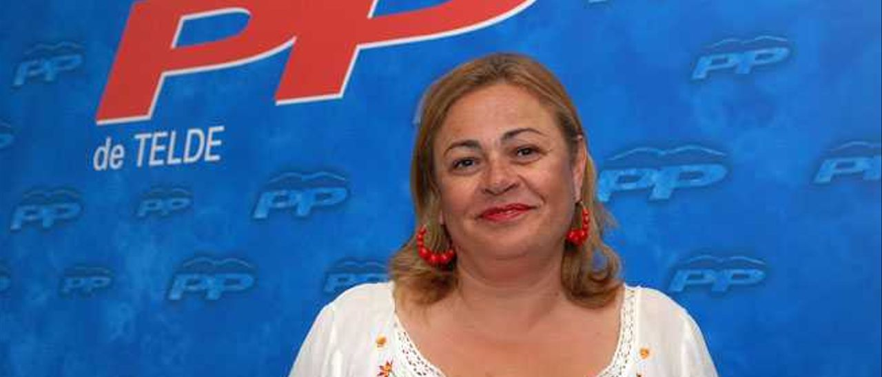 Mª del Carmen Castellano, alcaldesa de Telde