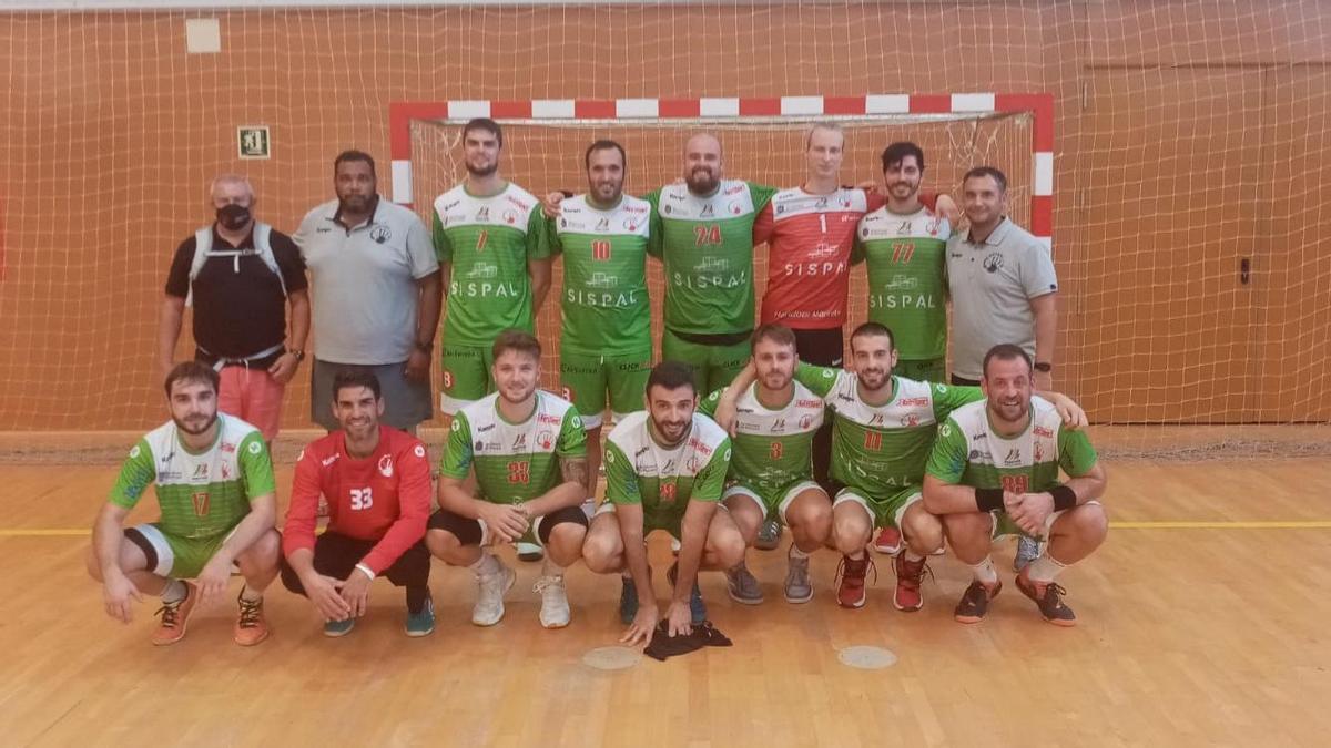 Plantilla del Sispal Marratxí de la Primera División nacional de balonmano.