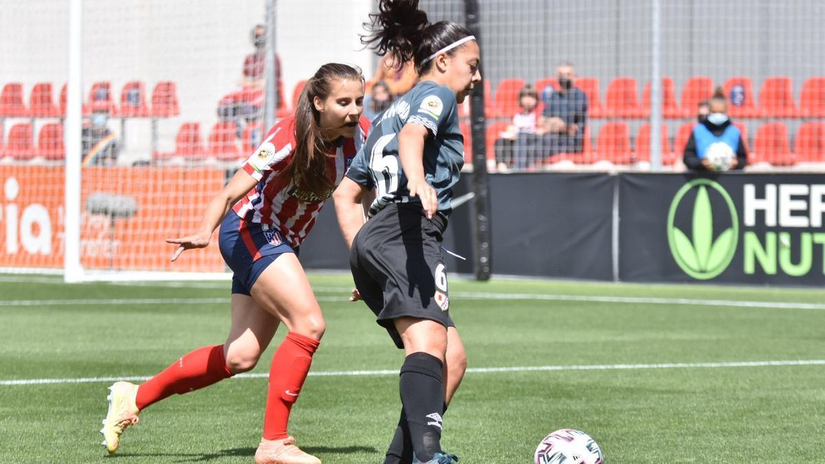 Paula Fernández jugarà el primer partit de lliga al camp de l'Atlètic de Madrid