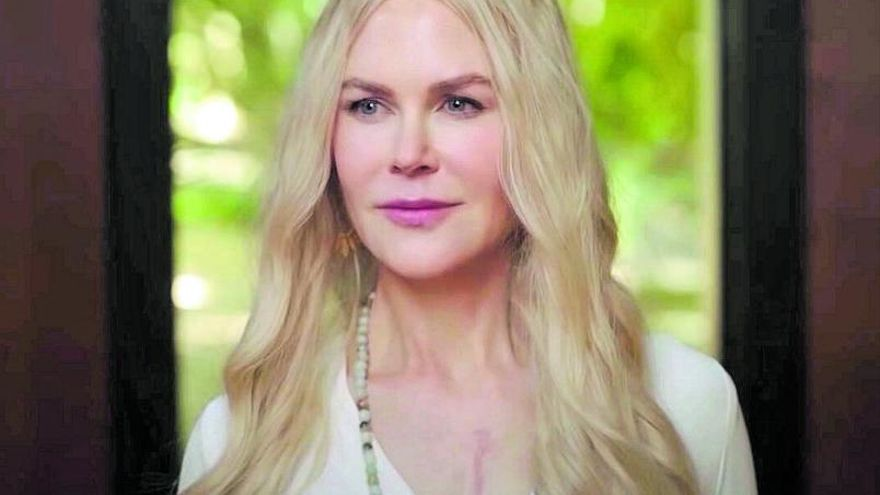 Un namasté con Nicole Kidman