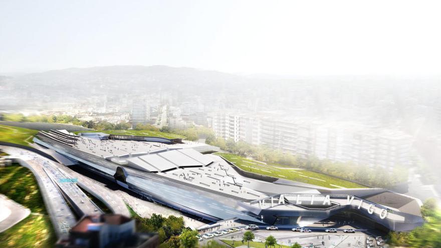Adif adjudica por 83 millones la estación de Mayne a Immochan, que debe construirla en 4 años y medio