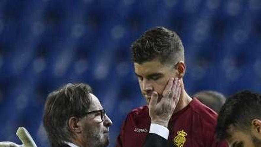 Herrera jugó a favor del Oviedo con los cambios