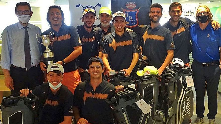 Pula Golf Resort  gana el XIX Trofeo FBG por equipos