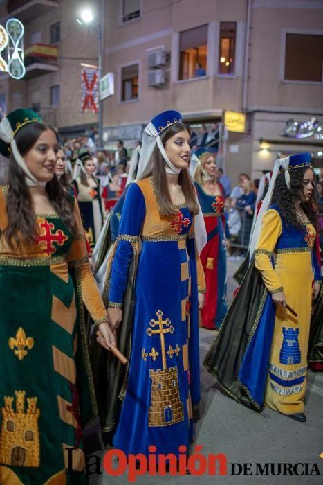 Desfile día 4 de mayo en Caravaca (salida Bando Cr