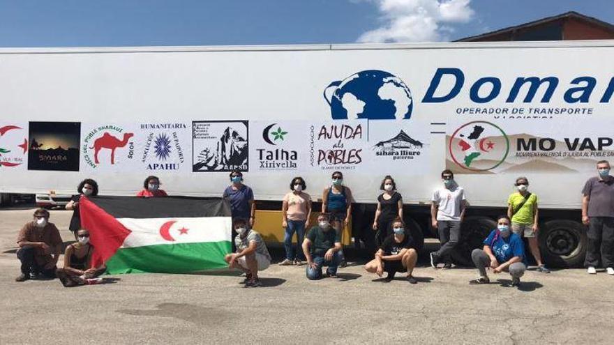 La Caravana por la Paz parte al Sáhara