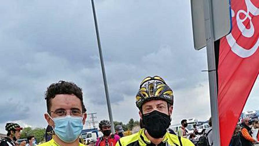 Los ciclistas del Radical Bike inician la temporada en el Gegant de Pedra