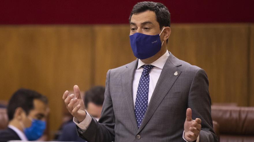 Juanma Moreno pide al PSOE-A que apoye los presupuestos andaluces