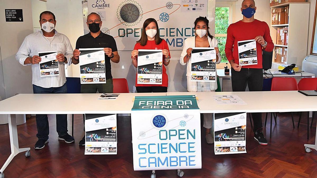Presentación de la IV Open Science, ayer, en Casa Arrigada. |   // CARLOS PARDELLAS