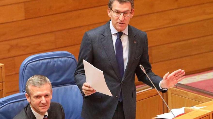 Feijóo asegura que Fomento buscará ya en 2018 fondos para el Corredor Atlántico