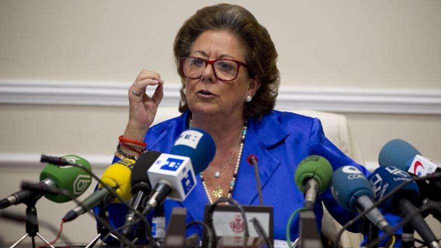 El PP vuelve a la carga con los honores para Rita Barberá