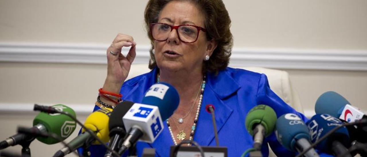 La alcaldesa Rita Barberá, en una imagen de archivo. | F.BUSTAMANTE