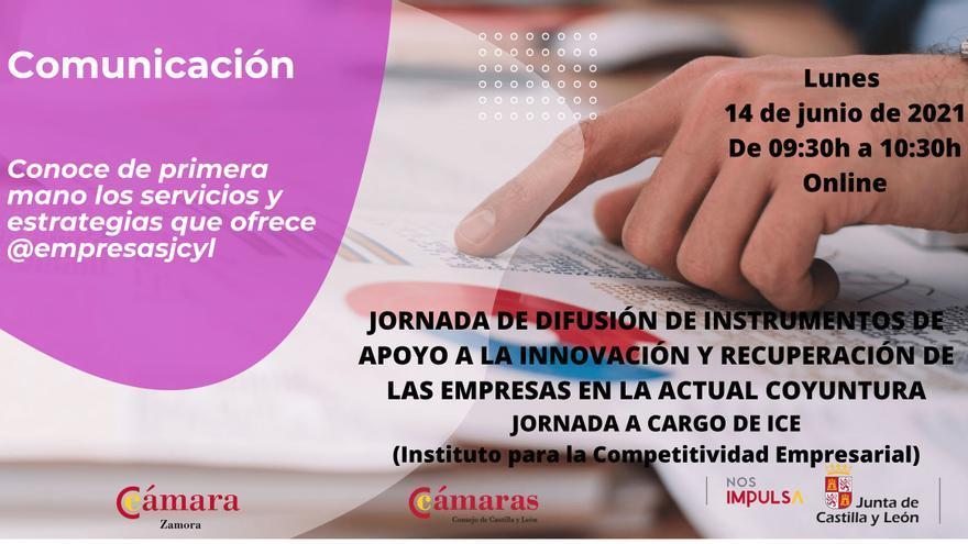 La Cámara de Comercio de Zamora y el ICE organizan una jornada sobre ayudas para paliar los efectos del COVID