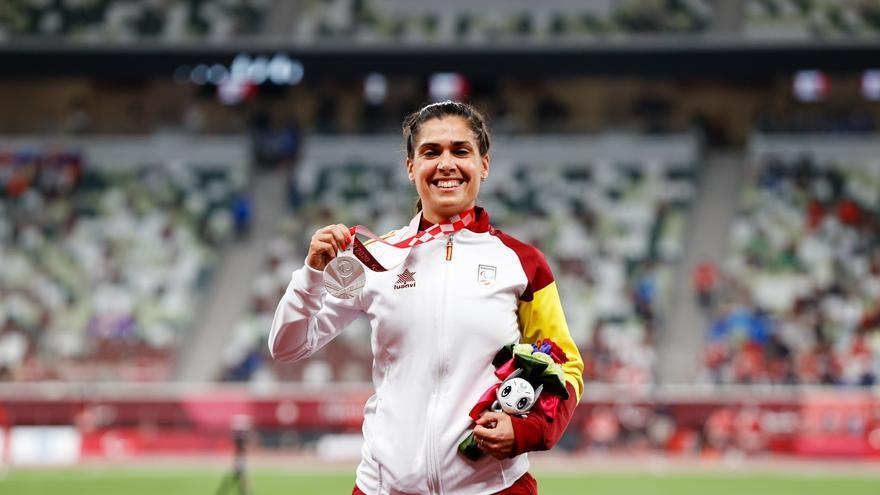 Miriam Martínez se adjudica la medalla de plata en el peso F36