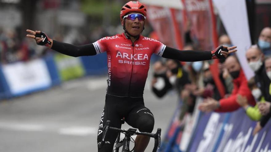 Jorge Bueno se sitúa en el top 100 en su debut como ciclista profesional; Quintana, primer líder