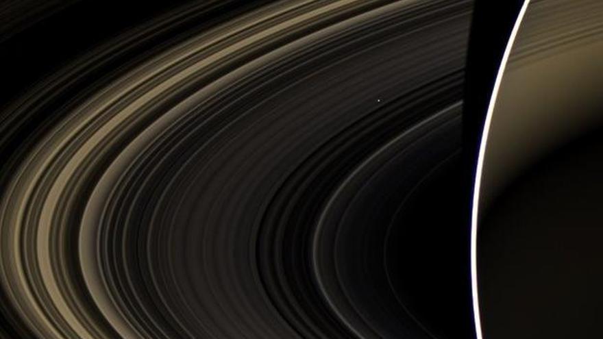 Venus, visto desde Saturno