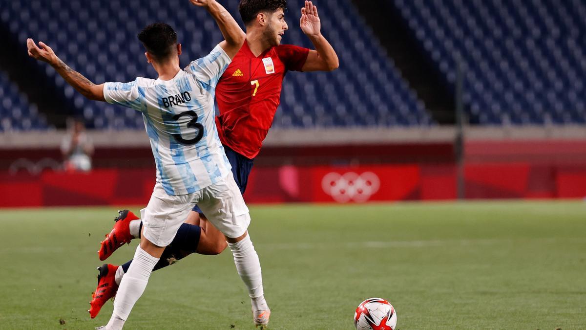 Marco Asensio ist mit Spanien ins Viertelfinale in Tokio eingezogen.