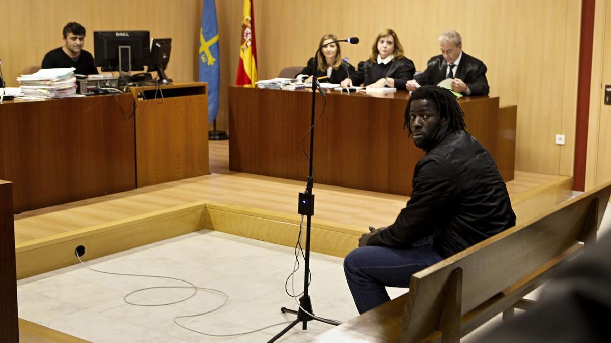 Papagore, en un juicio anterior.