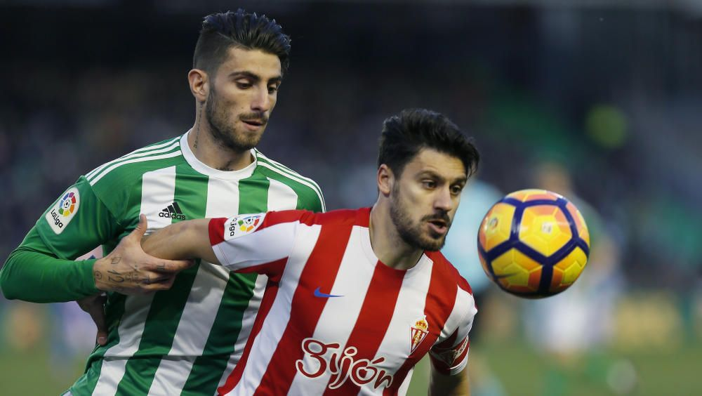 Partido Real Betis-Real Sporting