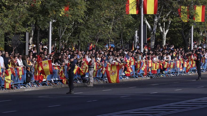 Eurofighter-Absturz überschattet Militärparade in Madrid