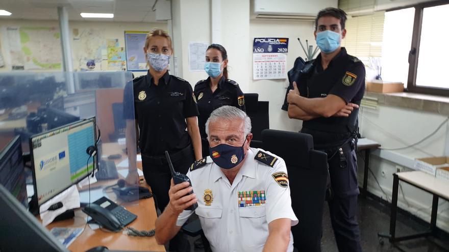 El jefe de la Policía de Balears felicita por la patrona a los agentes de servicio