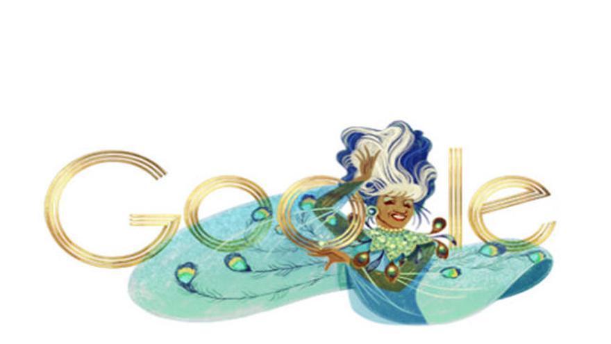 Google celebra el cumpleaños de Celia Cruz