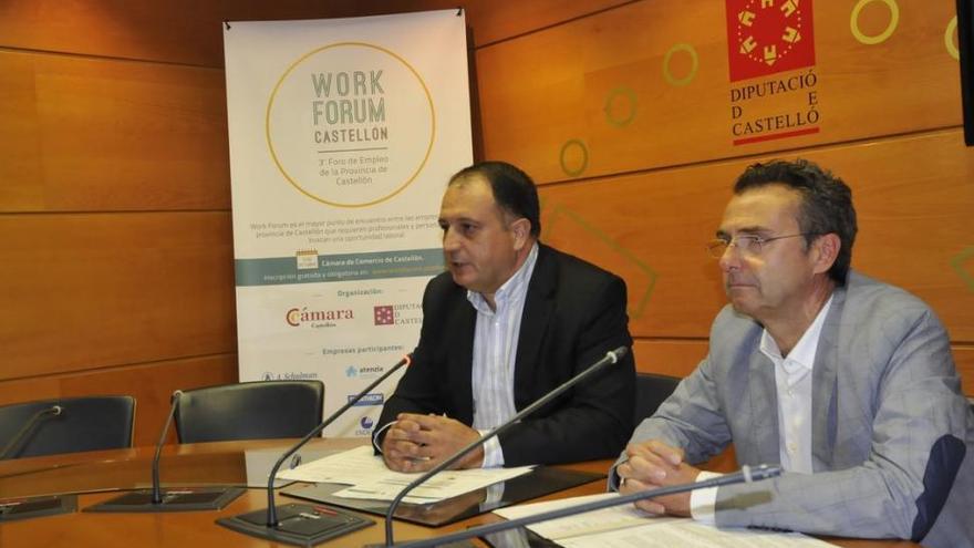 Diputación y Cámara reeditan el Work Fórum, el mayor foro de promoción del empleo en la provincia