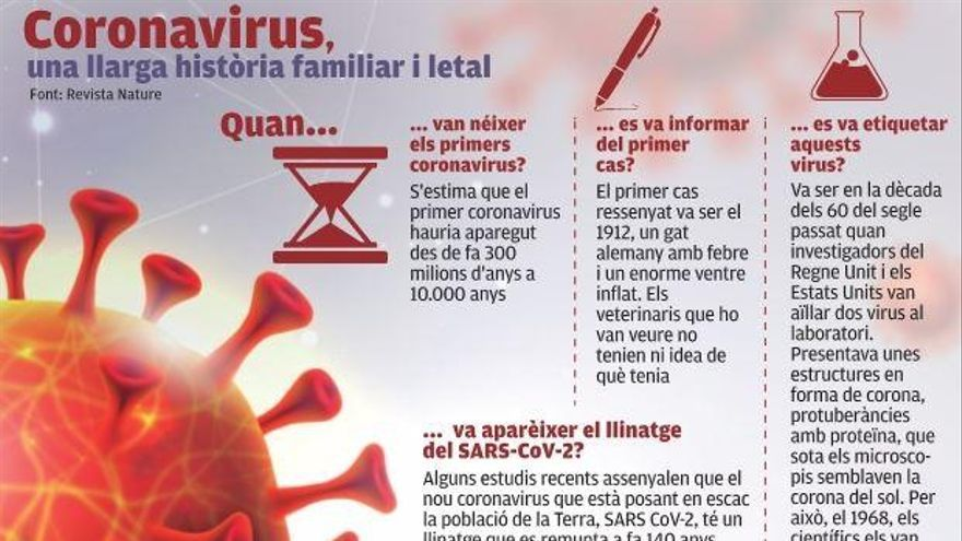 Un recorregut per la història del SARS-CoV-2 conclou que es remunta a fa més de 140 anys