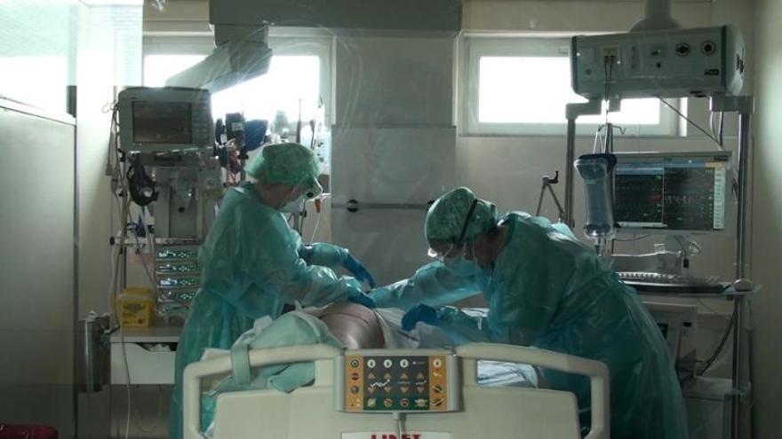 Augmenta el nombre d'ingressats per covid als hospitals catalans