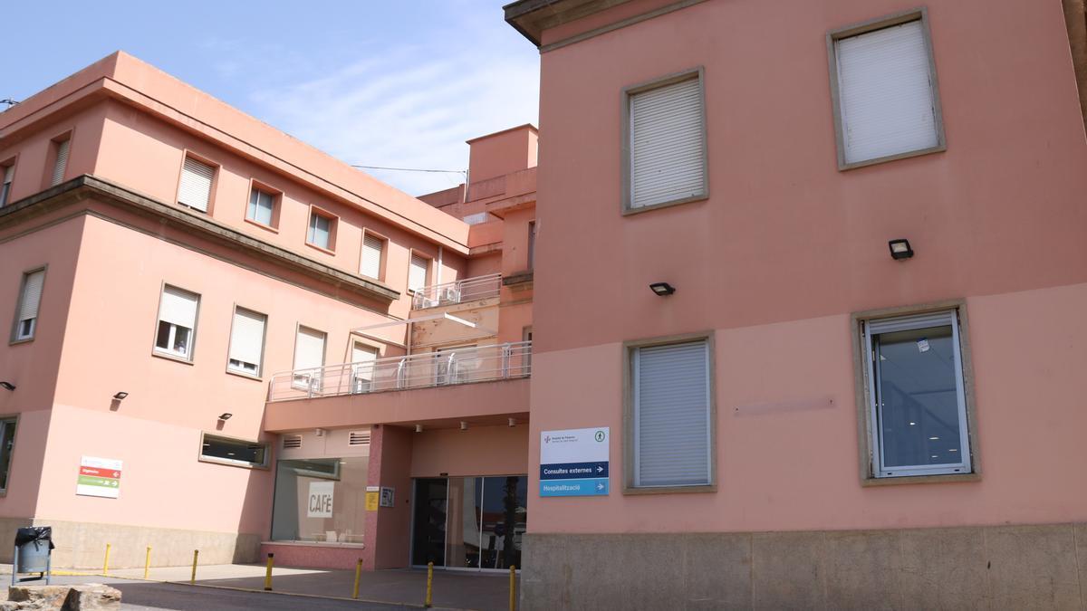 L'hospital de Palamós, en una imatge d'arxiu.