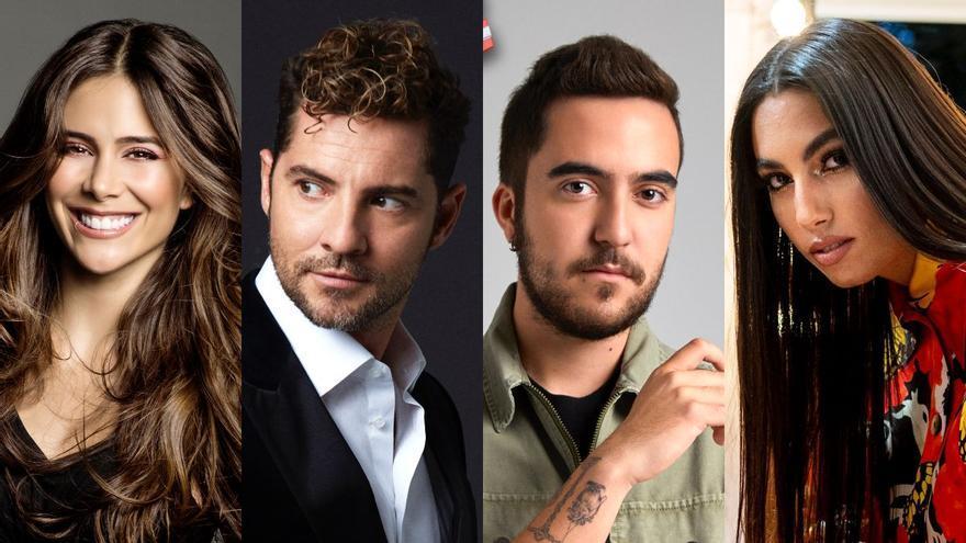 Greeicy, Bisbal, Beret y María José Llergo serán los asesores de la nueva edición de 'La voz' en Antena 3