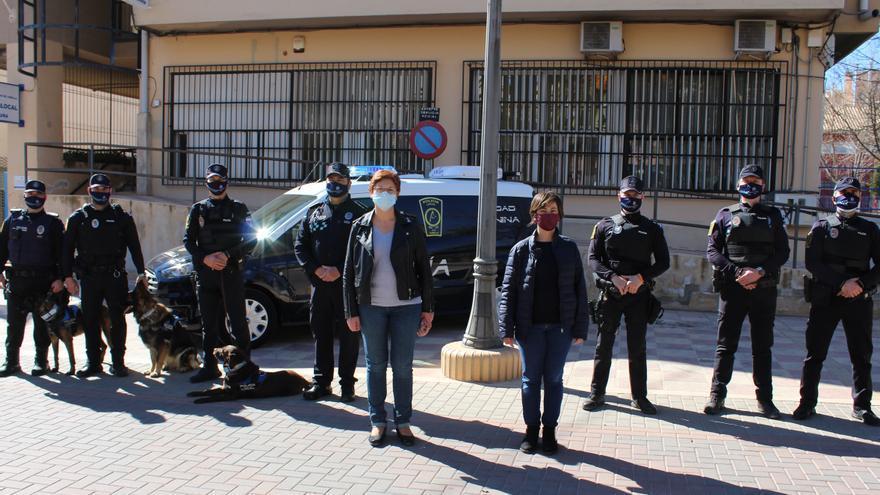 La Policía Local de Jumilla cuenta con un nuevo vehículo para la Unidad Canina