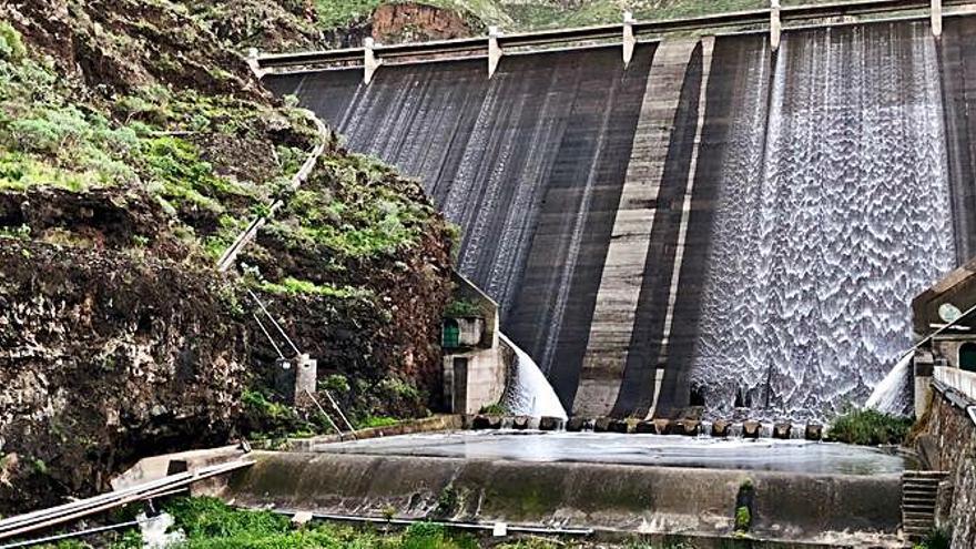 Las presas de La Gomera recuperan parte de su capacidad con las últimas lluvias