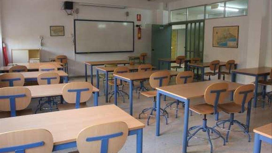 Seis aulas se encuentran en el modelo de enseñanza telemática