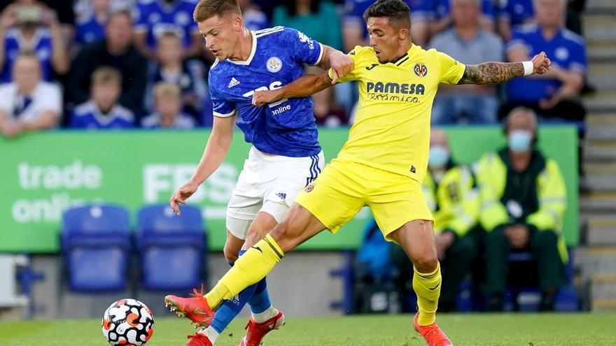 El Villarreal sigue plantando cara a sus problemas ante el Leicester (3-2)