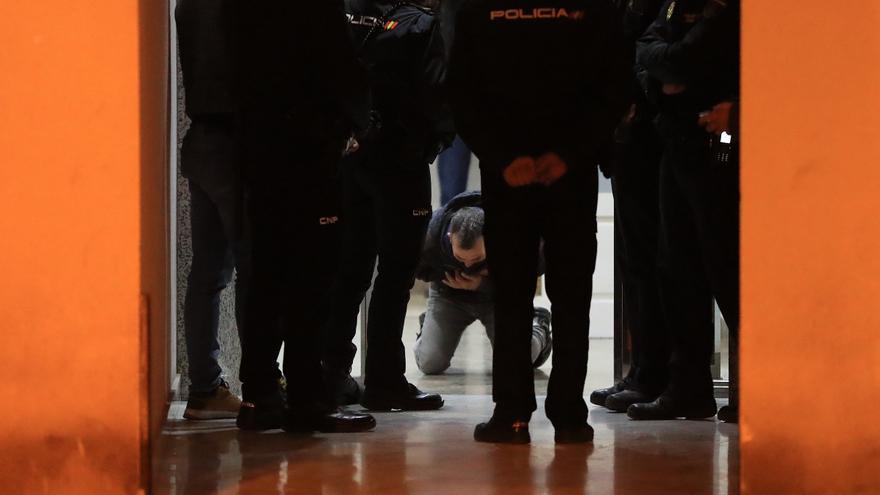 Reconstruyen el crimen del portal de San Cristóbal de Lorca