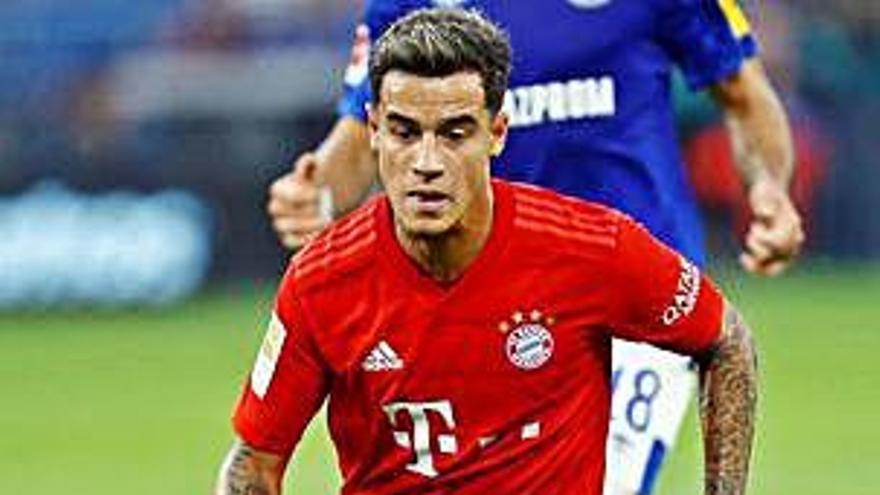 El Bayern assoleix una victòria còmoda i fa debutar Coutinho