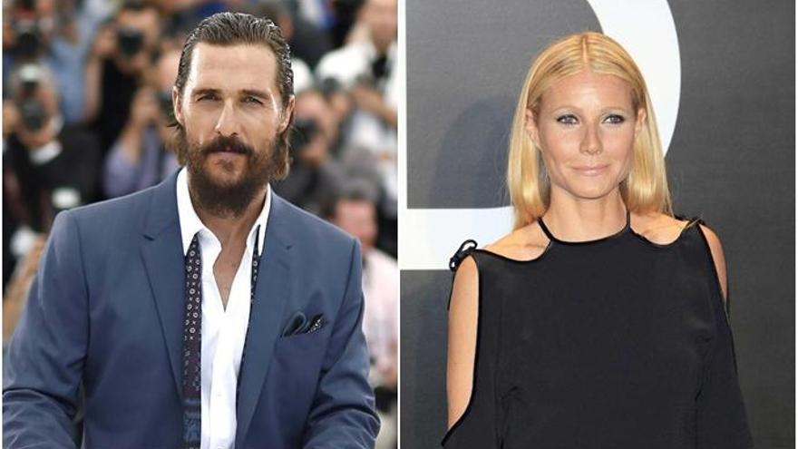 Matthew McConaughey y Gwyneth Paltrow, a punto de protagonizar 'Titanic'