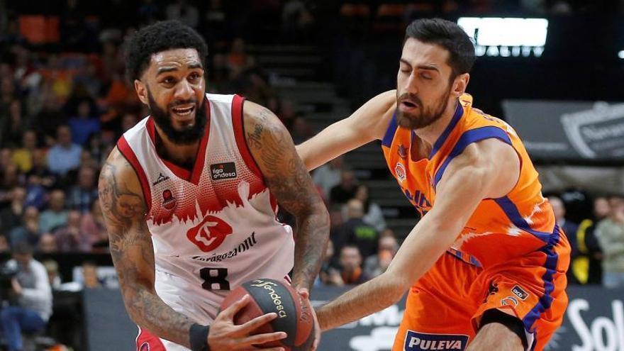 El Valencia Basket vence y convence ante el Casademont Zaragoza