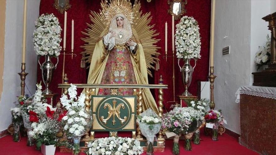 Tarde de mayo para honrar a la Virgen