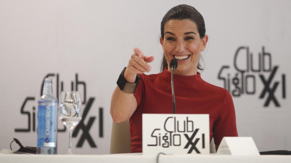 La candidata de Vox, Rocío Monasterio