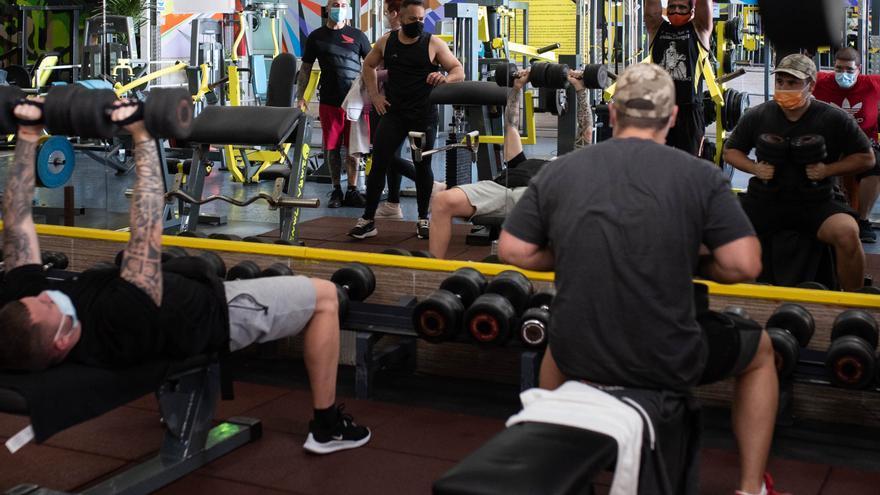CC aboga por ayudar a los gimnasios, que emplean a más de 2.000 personas en Tenerife