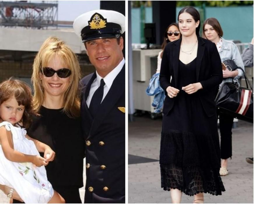 La hija de John Travolta. Ha tenido tres, pero uno de ellos falleció.
