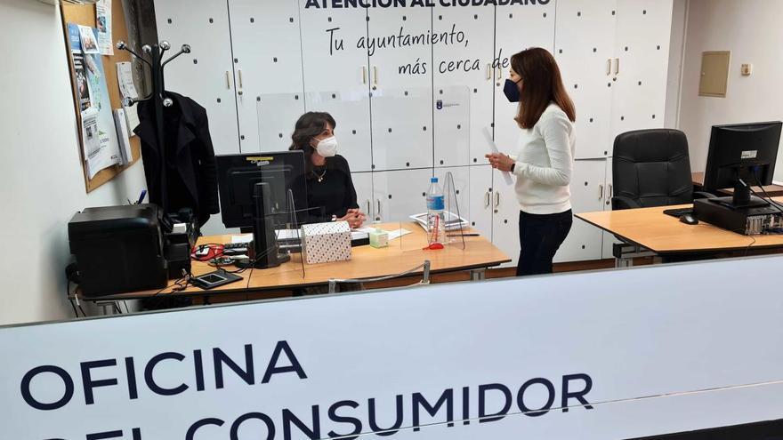 La Oficina del Consumidor de Caravaca atendió en 2020 más de 2.300 consultas