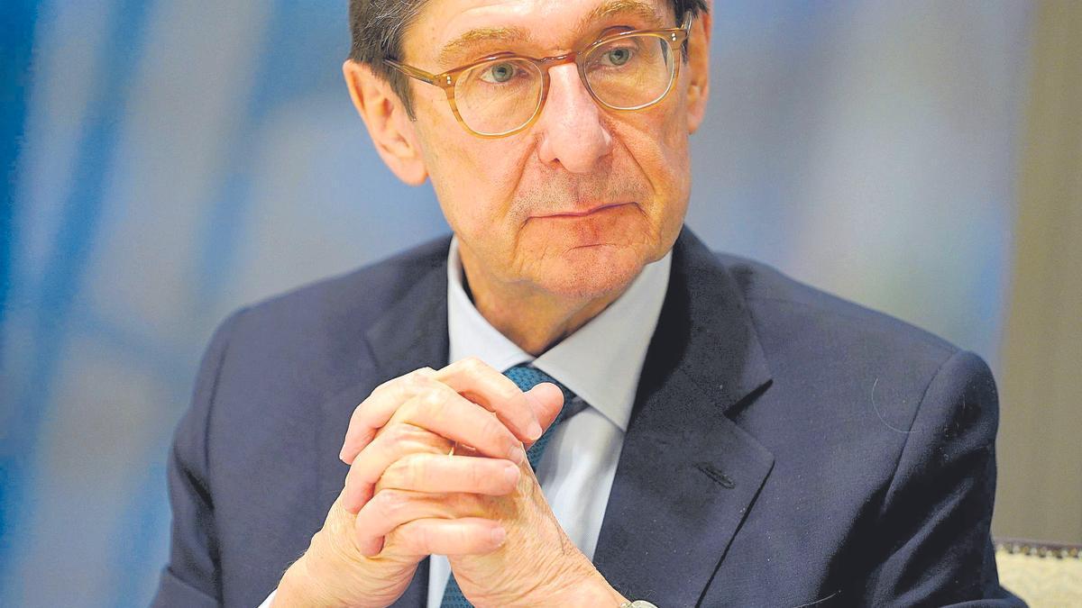 José Ignacio Goirigolzarri, presidente de Caixabank.